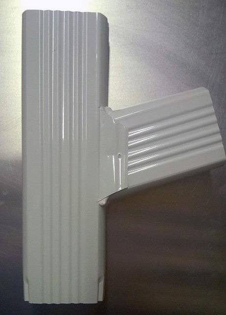 Gutter Leader Downspout Y Connectors Standard Upright