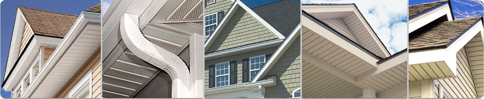 Examples of soffit styles and trim